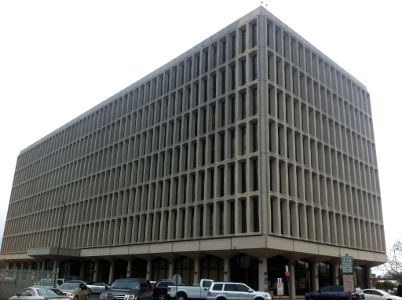 San Antonio Federal Building. Photo by Rachel Holland.