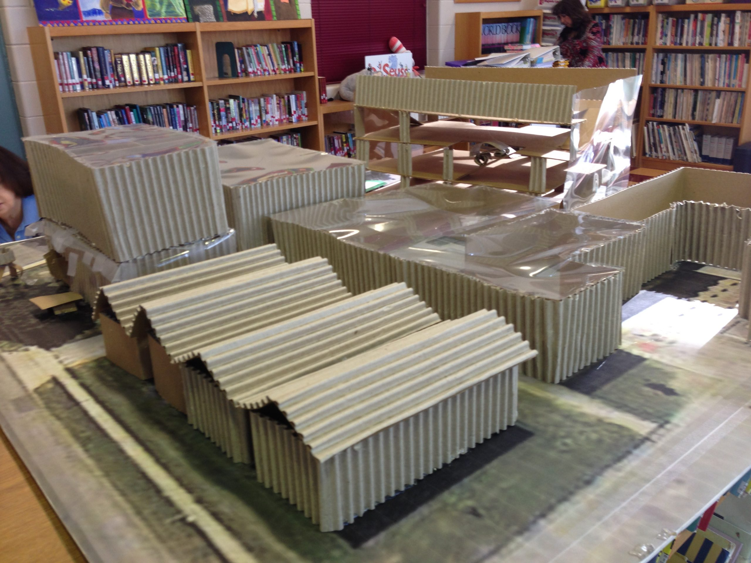 Student Architecture Project at Hawthorne Academy. File photo.
