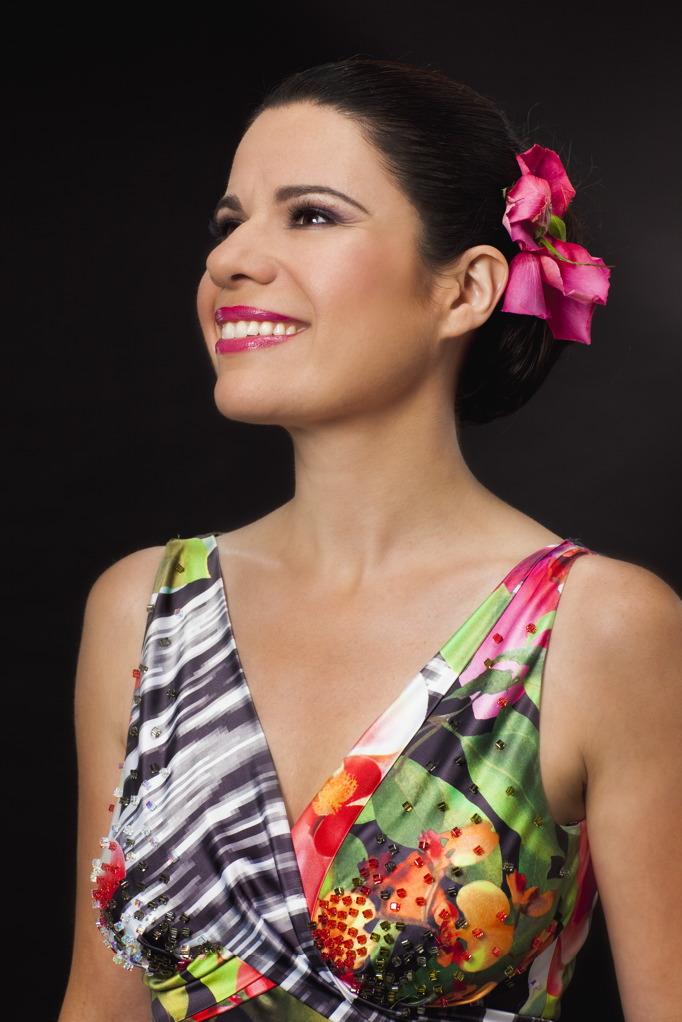 Soprano Ana María Martínez. Photo by Tom Specht.