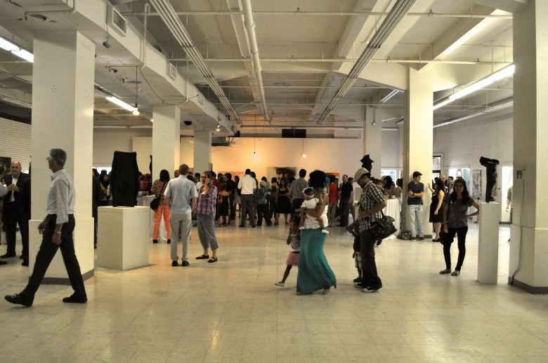 The Center City Open House, showcasing a vacant building's potential. Photo by Iris Dimmick.