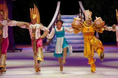 The Alamodome hosts Disney on Ice's production of Beauty and the Beast. Photo courtesy of the City of San Antonio.
