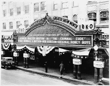 The Majestic Theatre, circa 1931.