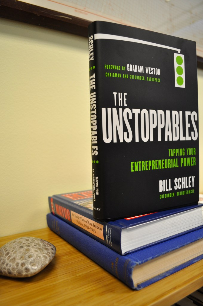 The Unstoppables Bill Schley Book Cover