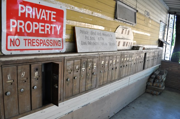 abrombia These trailer park mailboxes that we, of course, that's agreat.