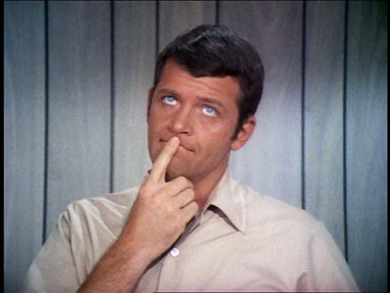 The Brady Bunch's dad, Mike Brady, played by actor Robert Reed (1932-1992).