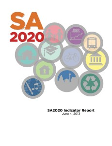 The SA2020 Indicator Report. A link to full report will become available at 2 p.m. today, after the meeting at Rackspace.