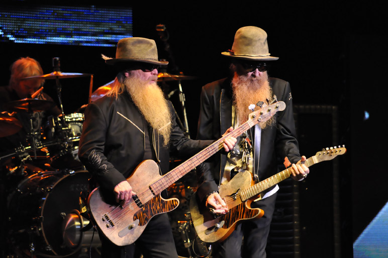 The little ol' band from Texas, ZZ Top. Photo by Annette Crawford/Courtesy Majestic Theatre.