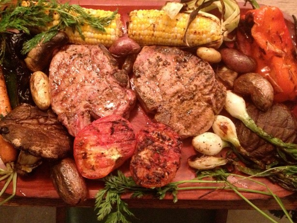Grilled to perfection. A great place to end up. Photo (and grillin') by Robert Rivard.