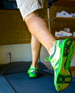 Whether you're training indoors or outside, make sure you have the right shoes for you. Photo(s) by Tom Trevino.