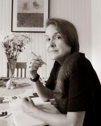 Poet Naomi Shihab Nye. Photo by Al Rendon.