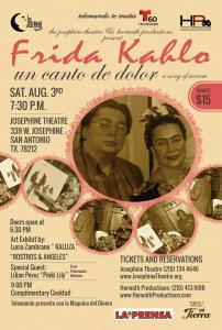 Frida Kahlo at the Josephine Theatre.