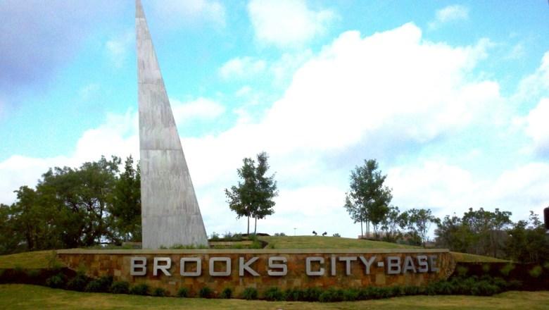 Brooks City-Base signature gateway. Courtesy photo.