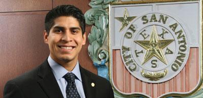 District Four Councilman Rey Saldaña.