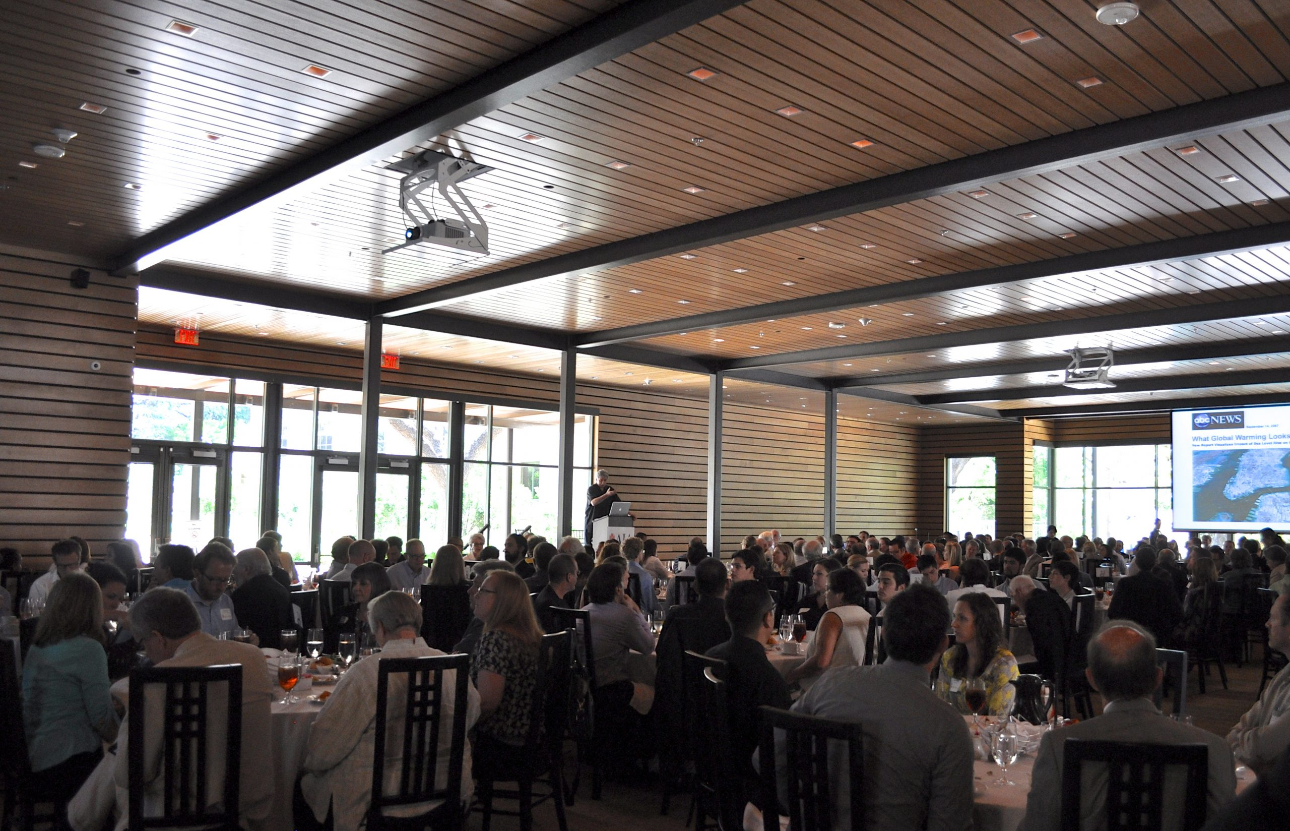 AIA San Antonio's third annual Sustainable Urban Development Luncheon at the Briscoe Art Museum. Photo by Iris Dimmick.