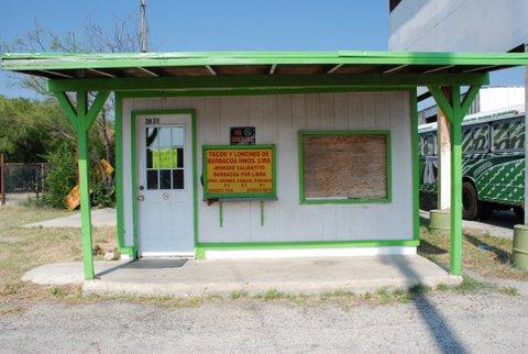 Uresti's first law office on Pleasanton Road.
