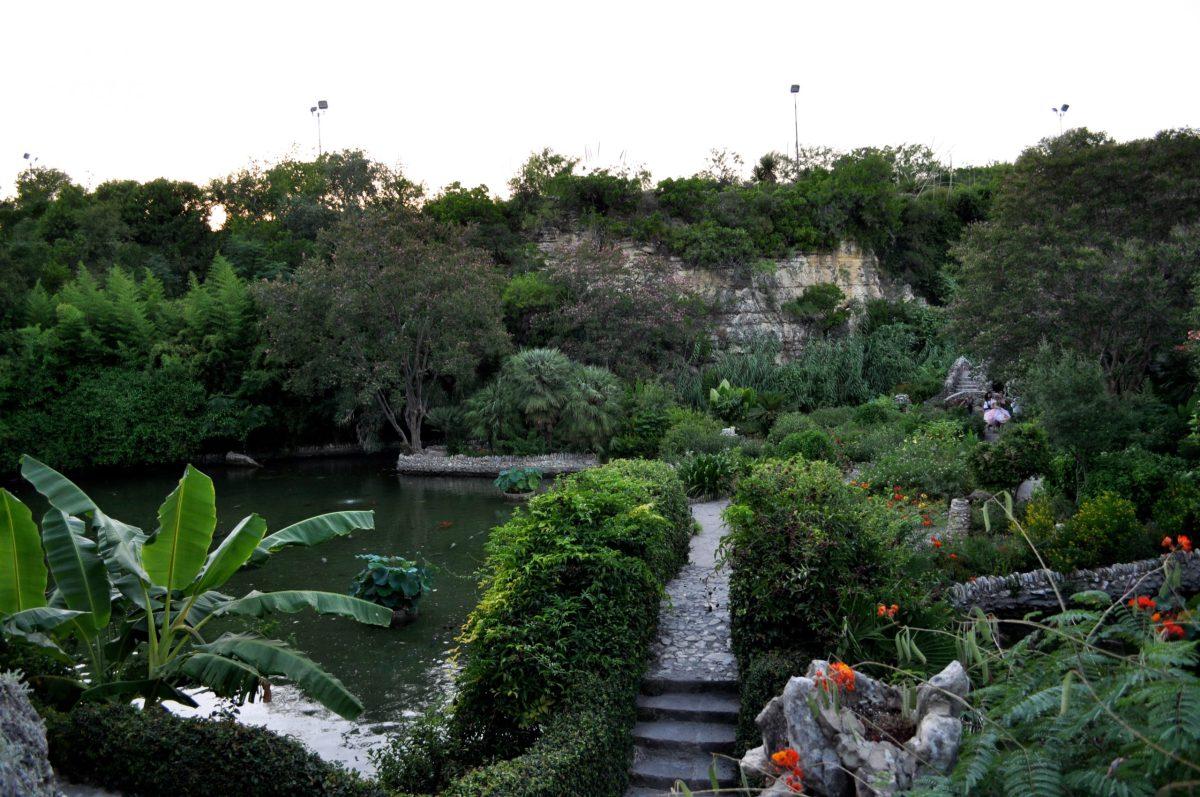 The Japanese Tea Garden at Brackenridge Park. Photo by Iris Dimmick.