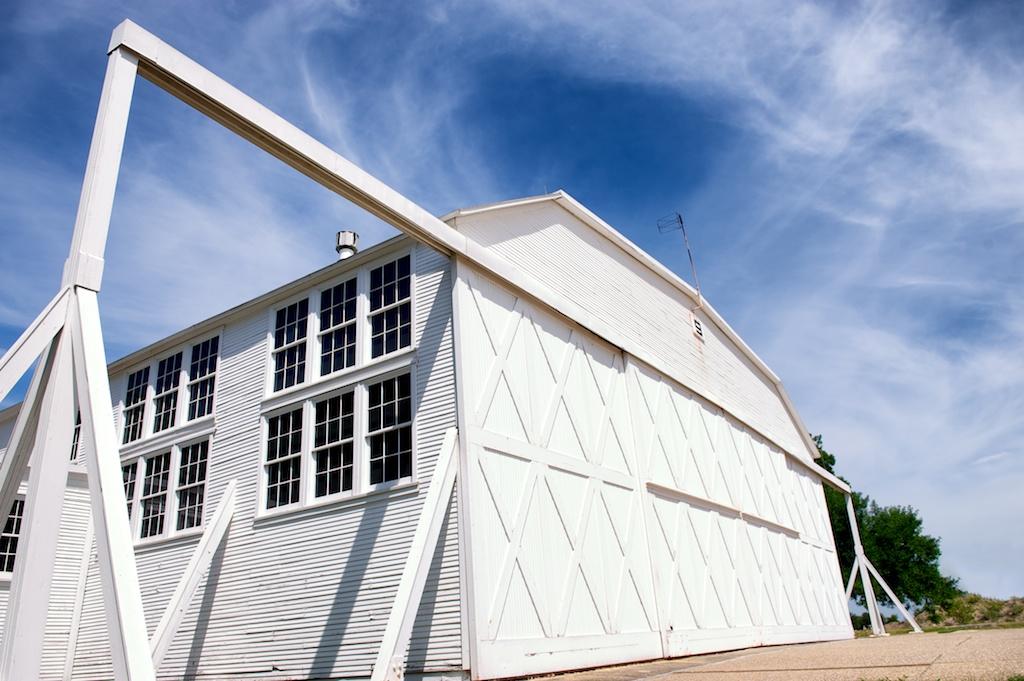 Historic Hangar 9 at Brooks City-Base. Courtesy photo.