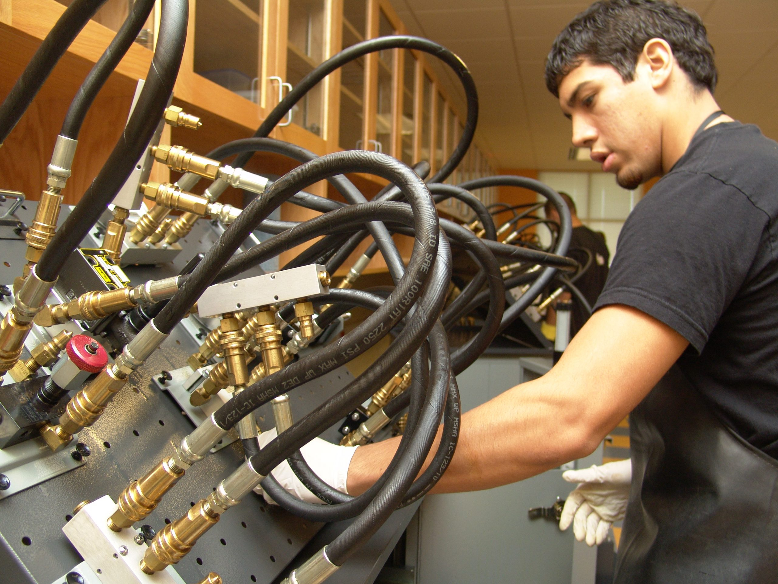 Students gain hands-on experience in Palo Alto College's unique career and technical programs. Courtesy Photo.