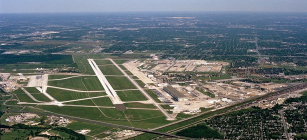 An aerial view of Port San Antonio. Courtesy of Port SA.