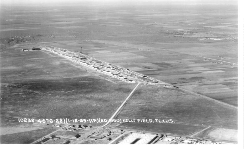 For almost a century, the land has supported humankind's dreams of flight. It began in 1917 as a center to train some of the world's first military pilots at the dawn of World War I. Photo courtesy U.S. Air Force.