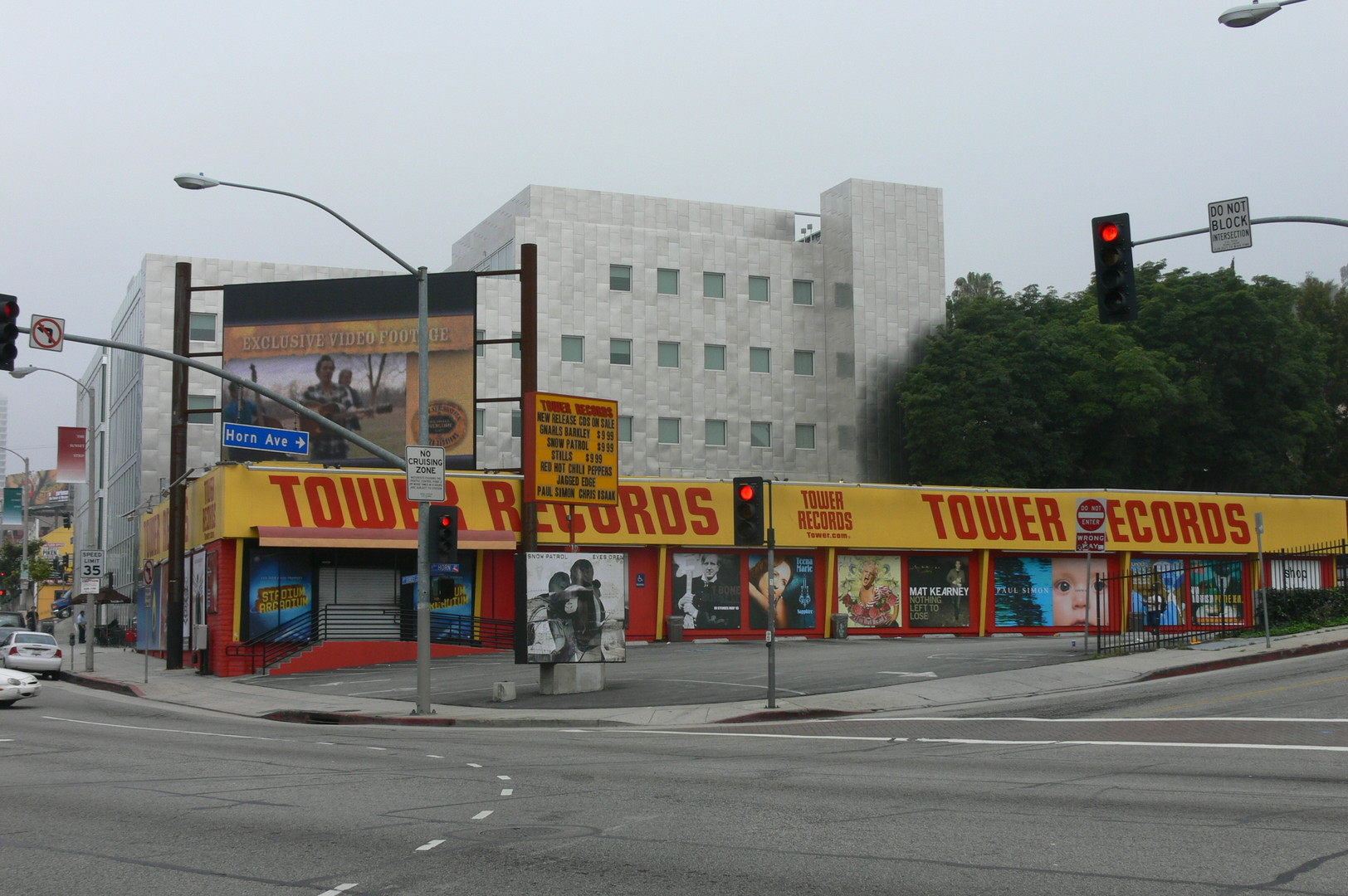 Tower Records finally went bankrupt in 2004 after years of mismanagement, large amounts of incurred debt from aggressive expansion and illegal downloading. Photo by Mike Dillon.
