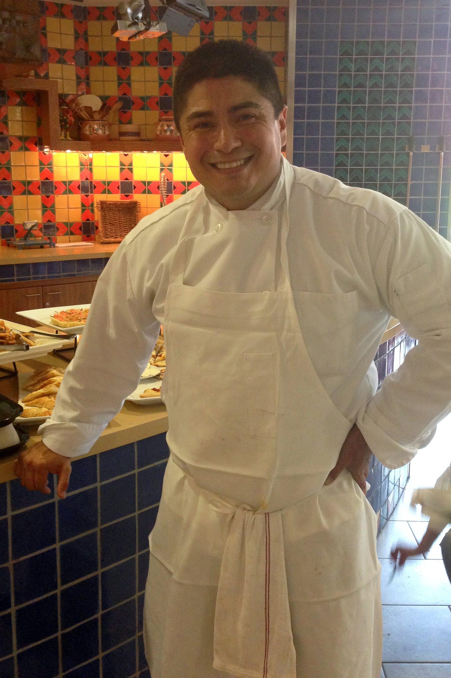 Chef Joe is part of the Warriors to Work program