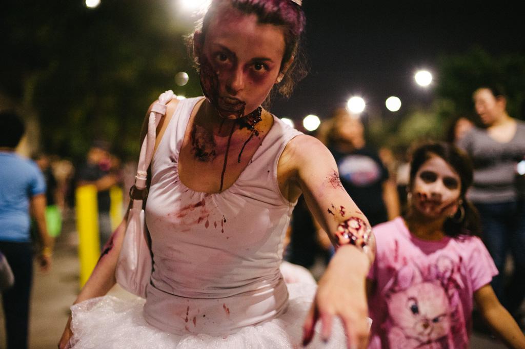 Zombie Walk 2013 at Hemisfair Park © Christine Sargologos Photography.