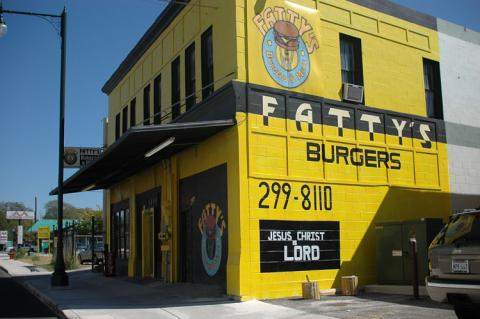 Fatty's Burgers at 1624 E. Commerce is one of the local Eastside vendors at the SAGE Music Festival. Courtesy photo.