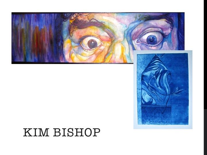 A sample of local artist Kim Bishop's work. Courtesy image.