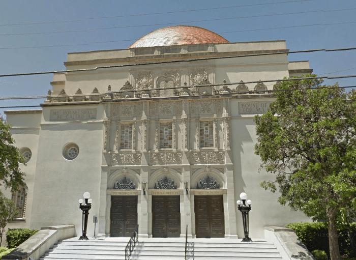 Temple Beth-El at 211 Belknap Place.