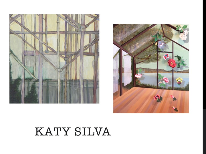 A sampling of local artist Katy Silva's work featured in the inaugural CSA. Courtesy image.