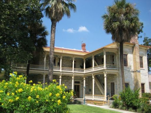 The Commander's House at 645 S. Main Ave. Photo courtesy of the City of San Antonio.