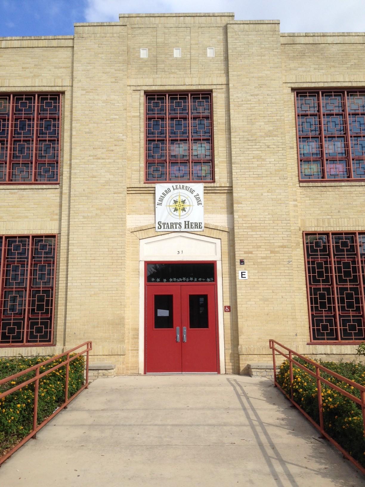 Navarro High School. Photo by Bekah McNeel.