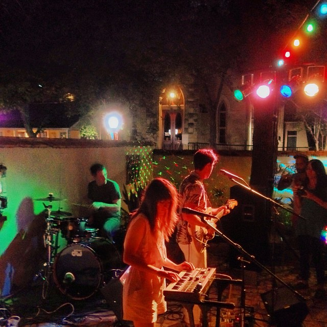 A pop up concert at La Villita, brought to you by Puro Pinche (www.puropinche.com). Photo courtesy of Kevin McCullough.