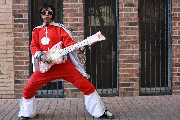 JJ The Hispanic Elvis. Photo by HOSA/Michael Cirlos.