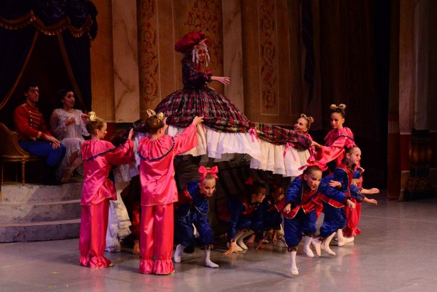 "Backstage at the Majestic with Ballet San Antonio during ""The Nutcracker"" dress rehearsal. Photo by Page Graham."