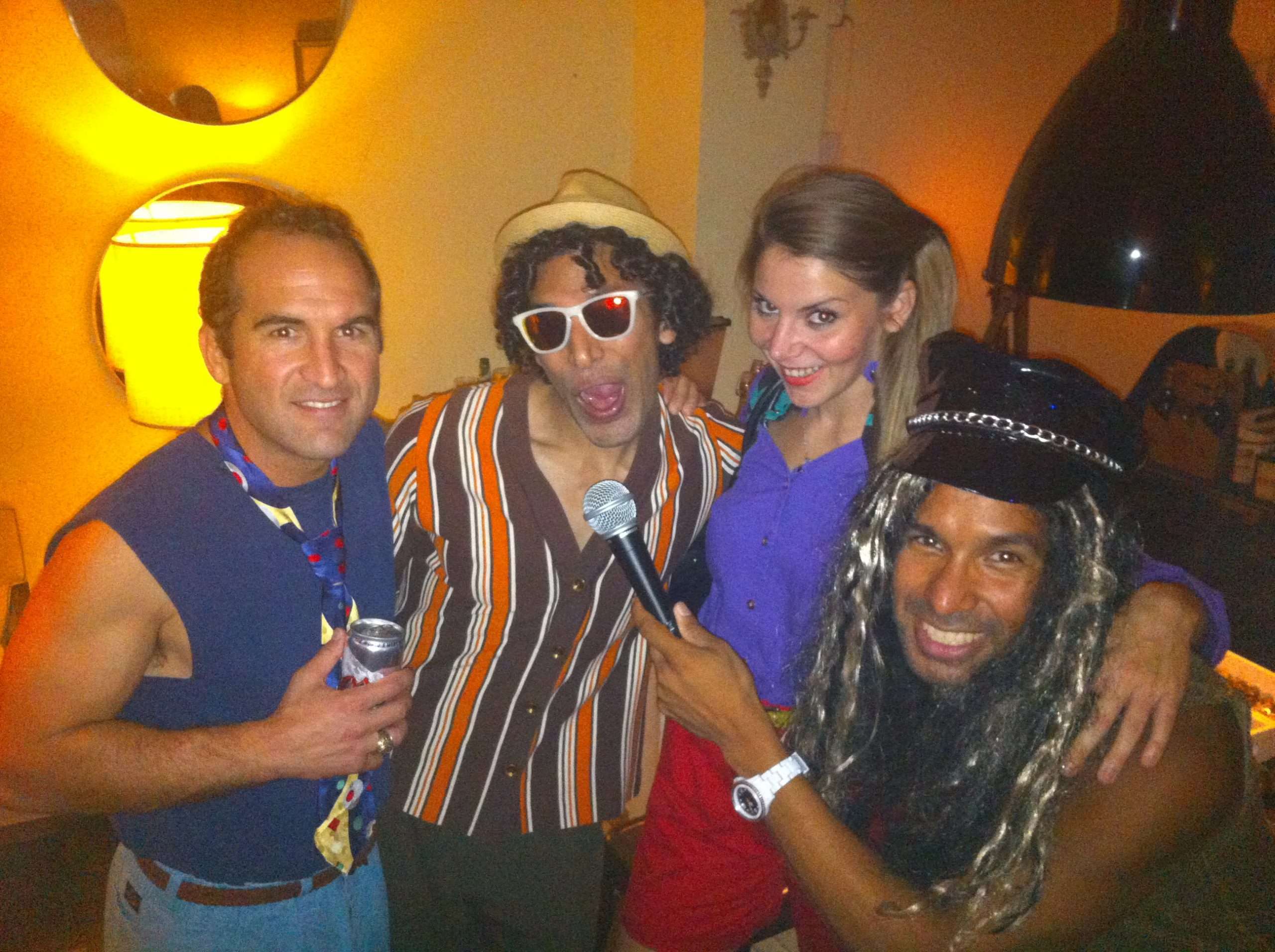 Recent Milli Vanilli themed speakeasy party at the Richter Co. Photo courtesy of Rachel Holland
