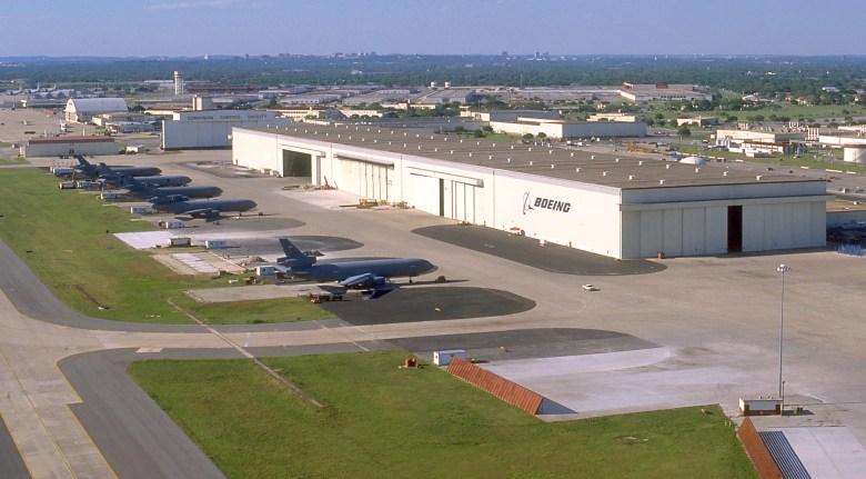 Boeing Hangar at Port San Antonio. Photo courtesy of Port San Antonio.