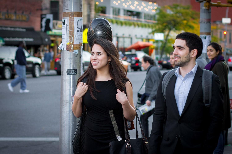 Cellist Christine Lamprea and pianist Daniel Anastasio in New York City. Photo by Hannah Sherman.