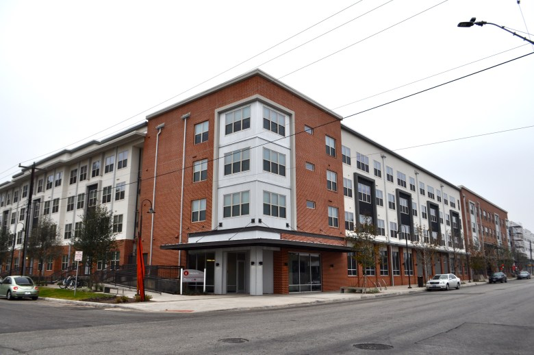 The Tobin Lofts at San Antonio College at North Main Avenue and West Laurel Street. Photo by Iris Dimmick.
