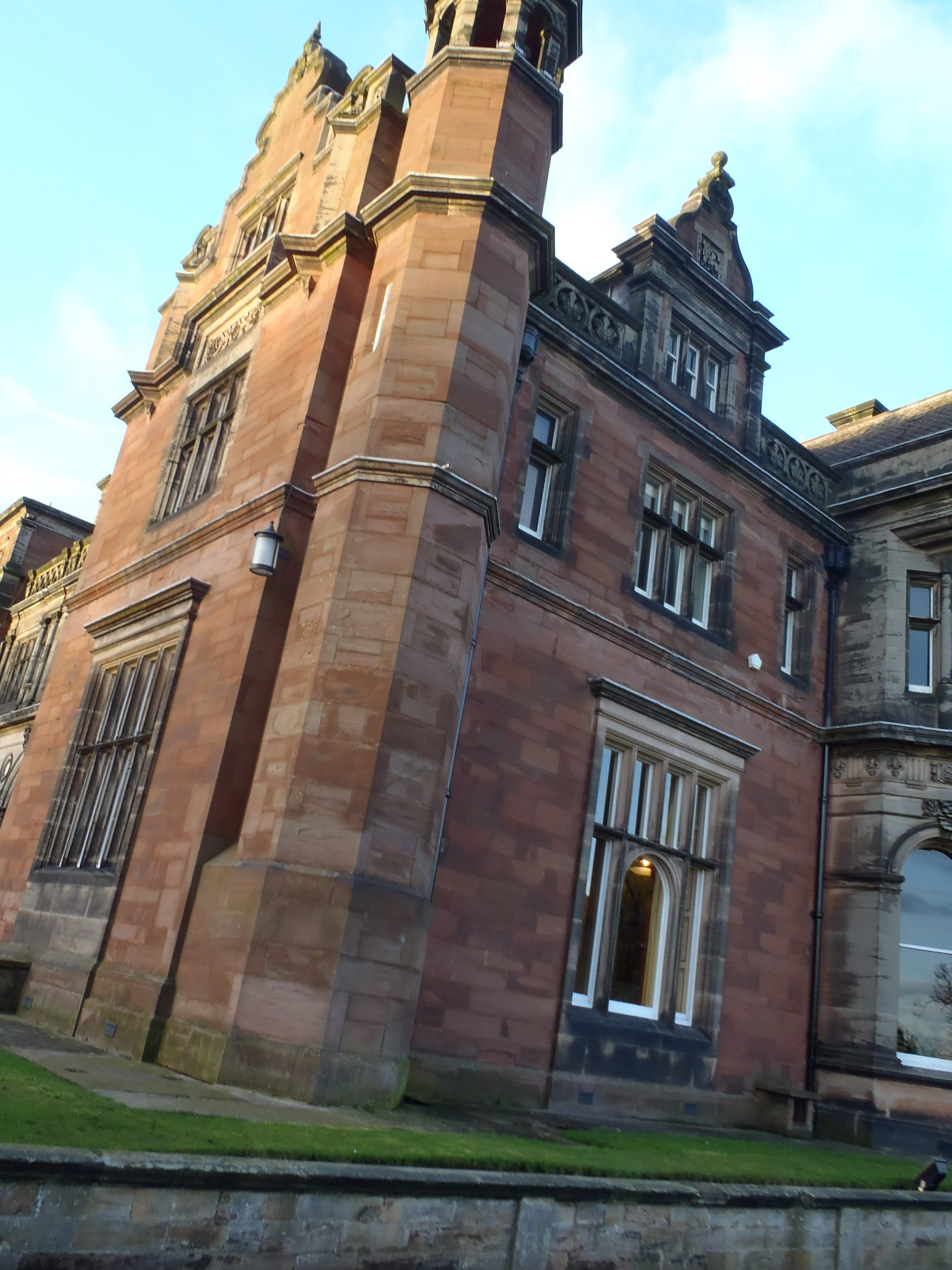 Keele University. Don't be fooled by the beautiful architecture; this was pretty much the pique of Keele's interest level. (author photo, Stoke-on-Trent, UK)