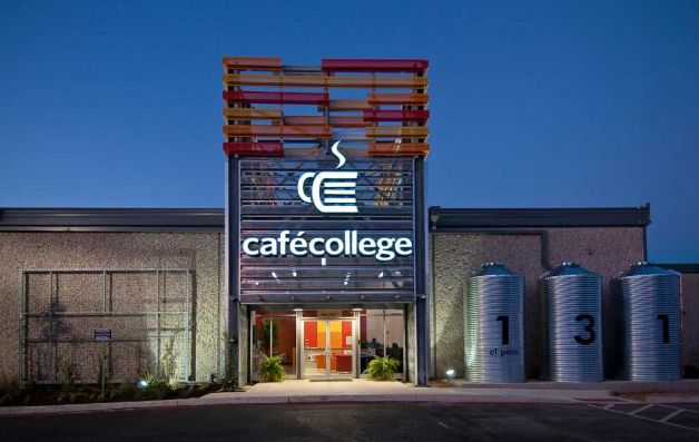 Café College at 131 El Paso St. Courtesy Photo.