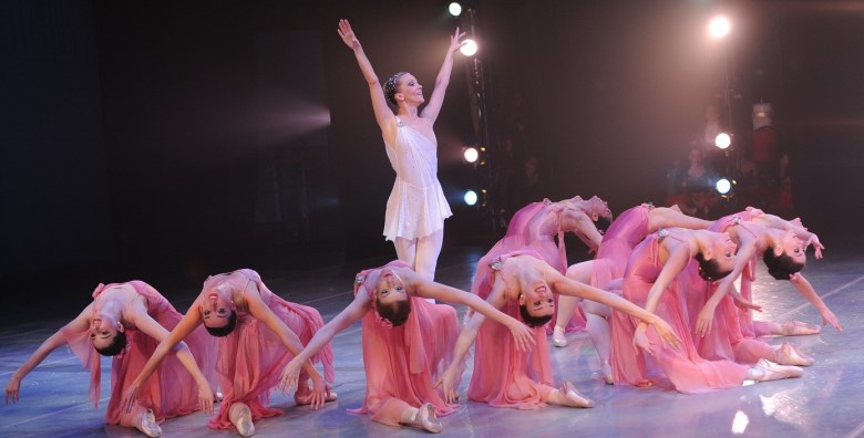 "A scene from ARTS San Antonio's production of ""The Nutcracker."" Photo by Greg Harrison/ARTS San Antonio."