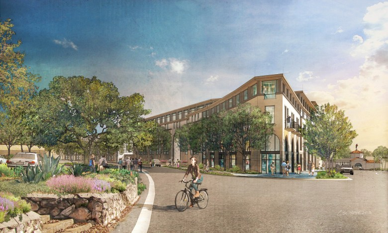 Alamo Heights Gateway. Image courtesy of Overland Partners