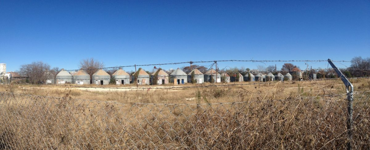 Present-day state of the silos. Photo taken by Rene Jaime Gonzalez