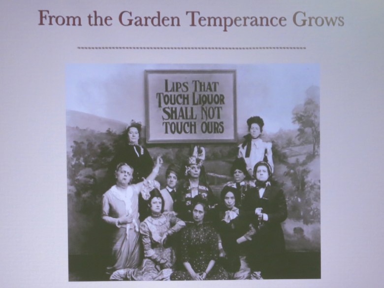 Some strong words from the Temperance Movement.