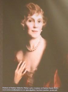 The glamorous Pauline Sabin.