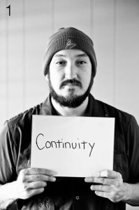 The first face of the 1005 Faces Project: Kevin Cacy. Photo by Sarah Brooke Lyons.