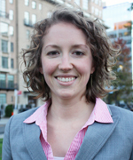 Mary Lauran Hall, Communications Director for Alliance for Biking and Walking