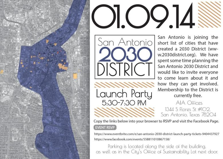 sa 2030 district launch invite